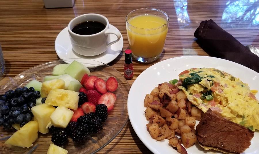 호델 아침식사